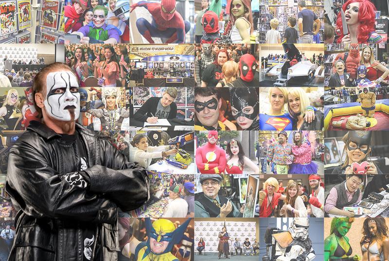 Sting™ Saturday VIP @ Wizard World Comic Con Philadelphia 2015