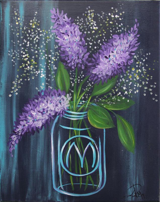 Jar of Lilacs