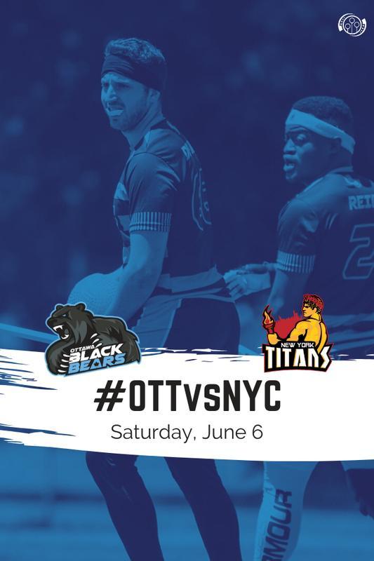 Ottawa Black Bears vs. New York Titans