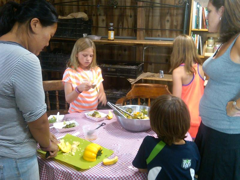 Tots Cook Session 1, Class 4: July 30th, Pick a Peck of Pickled Peppers