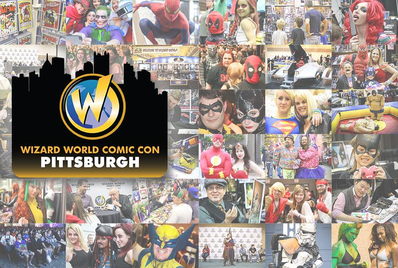 Wizard World Comic Con Pittsburgh 2015 VIP Package