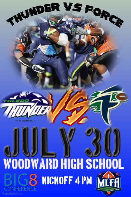 Toledo Thunder -VS- West Michigan Force