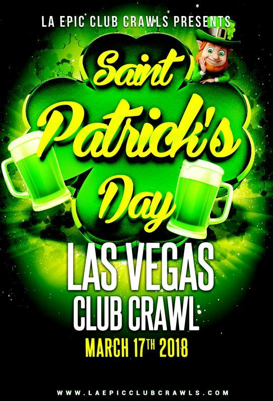 Las Vegas St Patricks Day Club Crawl