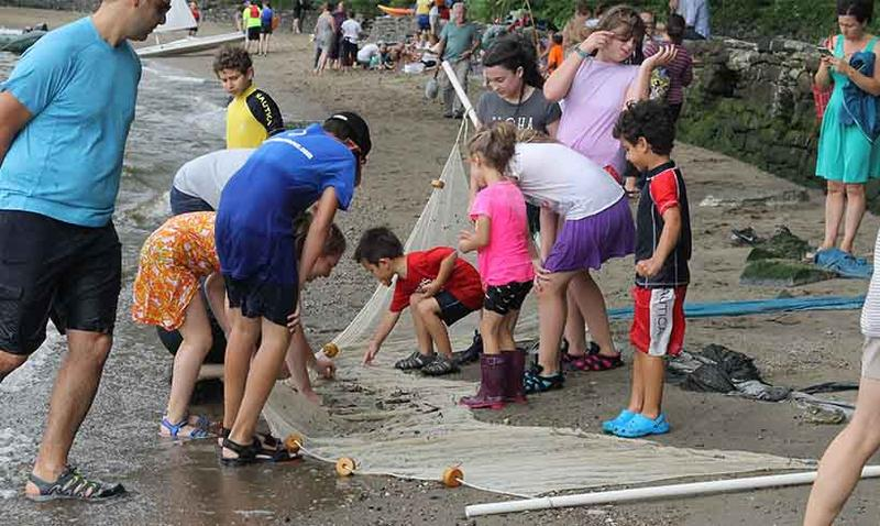 Beachcombing at the Riverwalk Center
