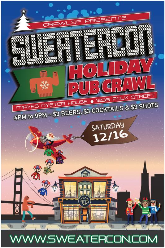 SweaterCon: San Francisco Ugly Sweater Pub Crawl