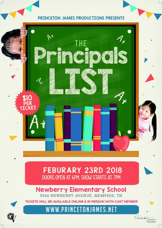 "Princeton James Presents ""The PRINCEipal's List"" (Newberry Elementary)"