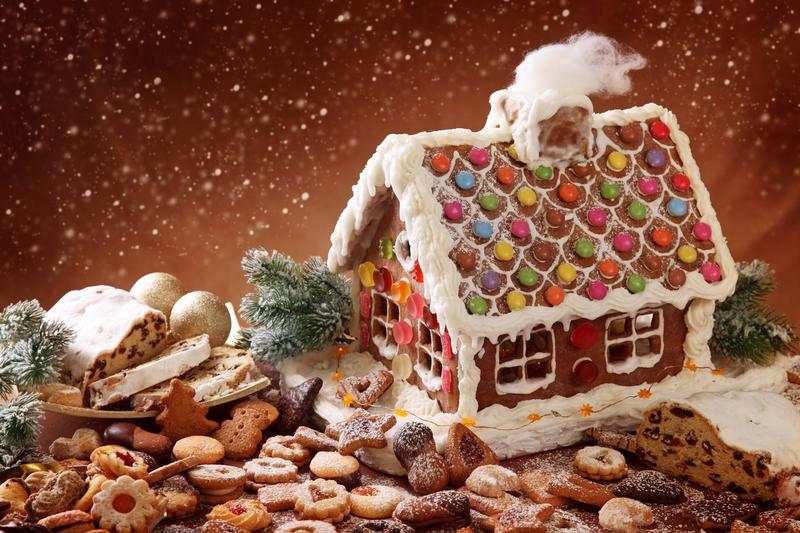 75 Chestnut Gingerbread House Party Event