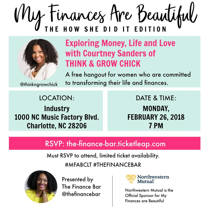 My Finances Are Beautiful: The How She Did It Edition