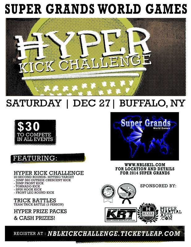 Hyper Kick Challenge - Super Grands World Games 25