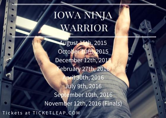 Iowa Ninja Warrior Men's Division-RD #4