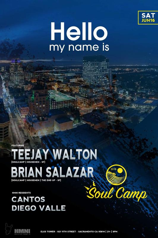 HELLO MY NAME IS - Soul Camp