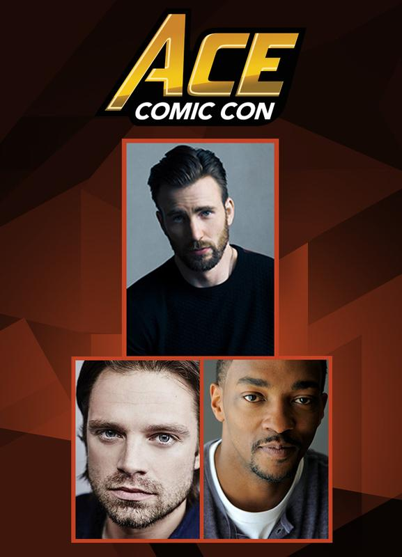 CAPTAIN AMERICA: THE WINTER SOLDIER VIP @ ACE Comic Con ARIZONA 2018