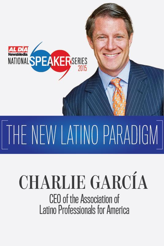 National Speaker Series featuring Charlie Garcia