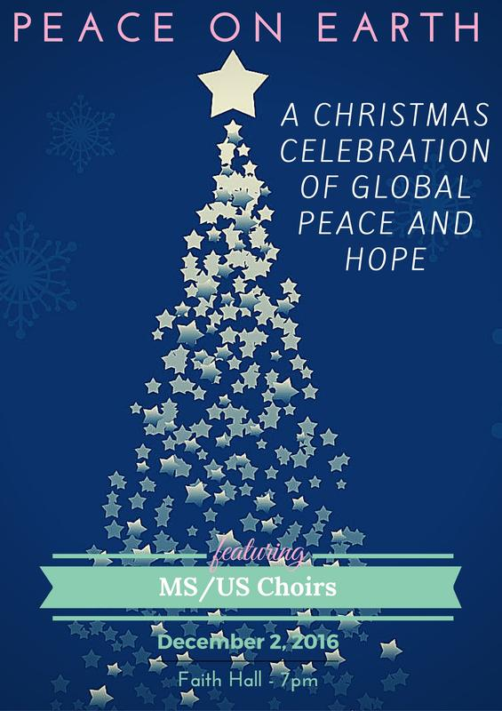 Peace on Earth - Choral Christmas Concert