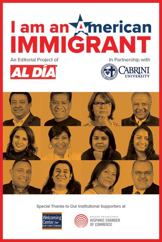 2018 I am an American Immigrant Reception