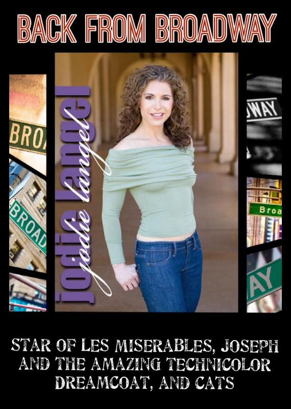 Jodie Langel... BACK FROM BROADWAY!