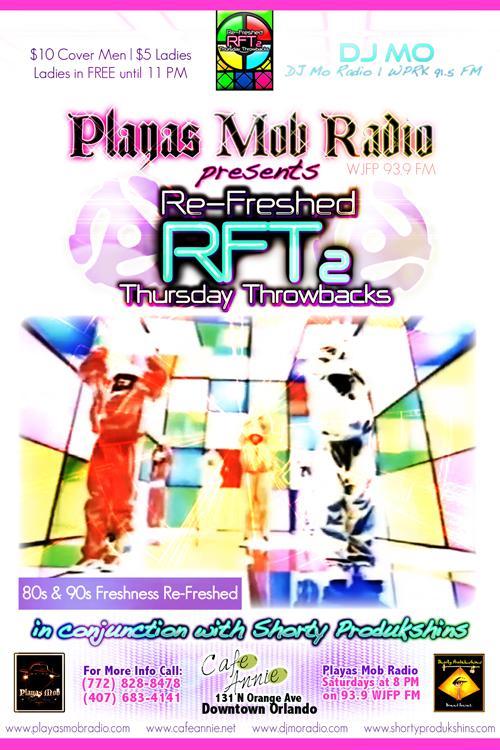 """Re-Freshed Thursday Throwbacks (RFT2) | Thursdays Cafe Annie"