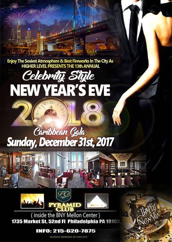 """13th Annual """"Celebrity Style"""" New Year's Eve Fireworks Gala"""