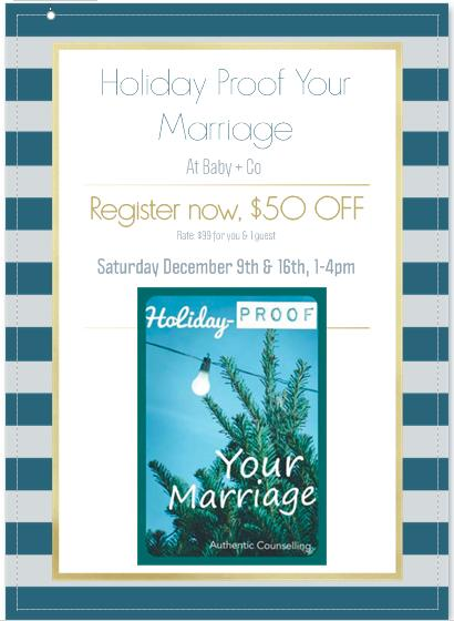 Holiday Proof Your Marriage