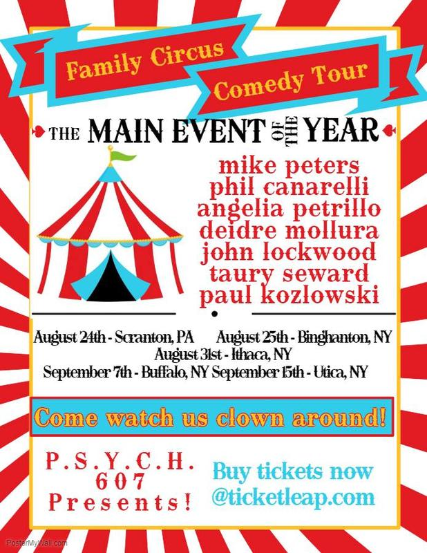 Family Circus Comedy Tour -- Ithaca