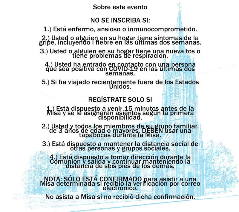 6PM Misa de Español