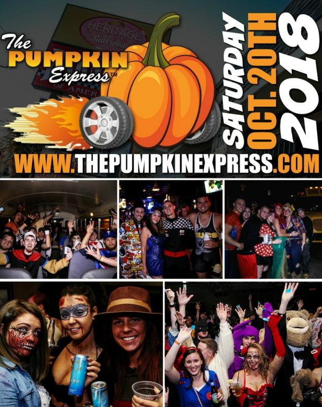 Halloween Bar Crawl - 5th Annual Pumpkin Express
