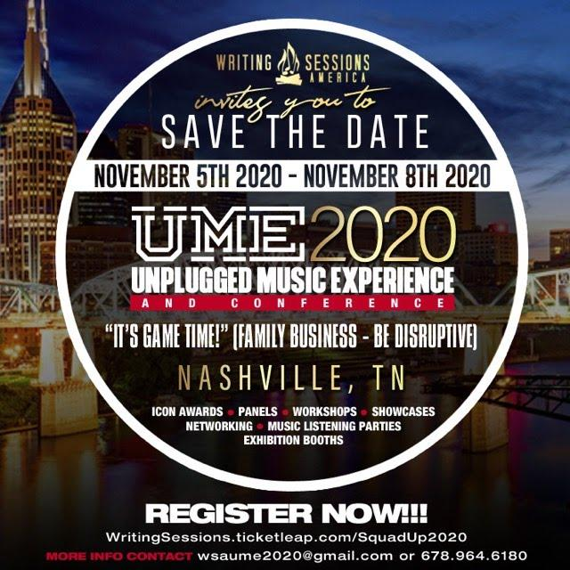 2020 WSA Membership & Unplugged Music Experience Conference tickets