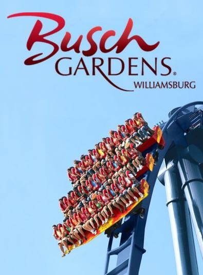 Busch Gardens Williamsburg Theme Park Trip