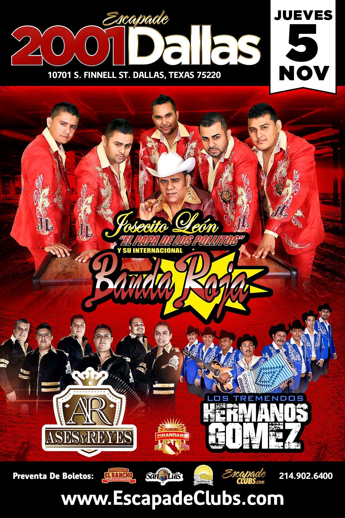 Banda Roja Tickets In Dallas Tx United States