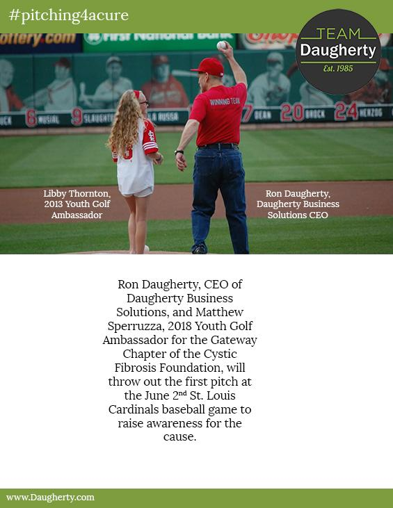 Team Daugherty 6th Annual First Pitch