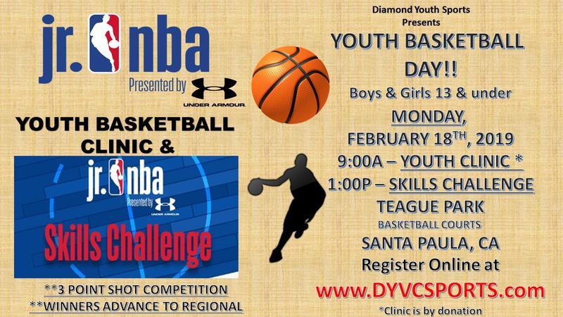 Youth Basketball Day Basketball Clinic