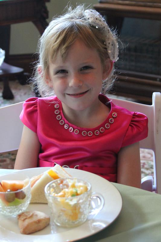 Granddaughter Tea March 31 2018 - Old Fashioned Games