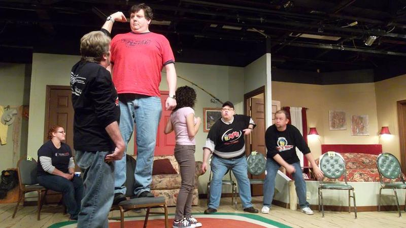 NINE AND NUMB IMPROV IN THE BLACK BOX