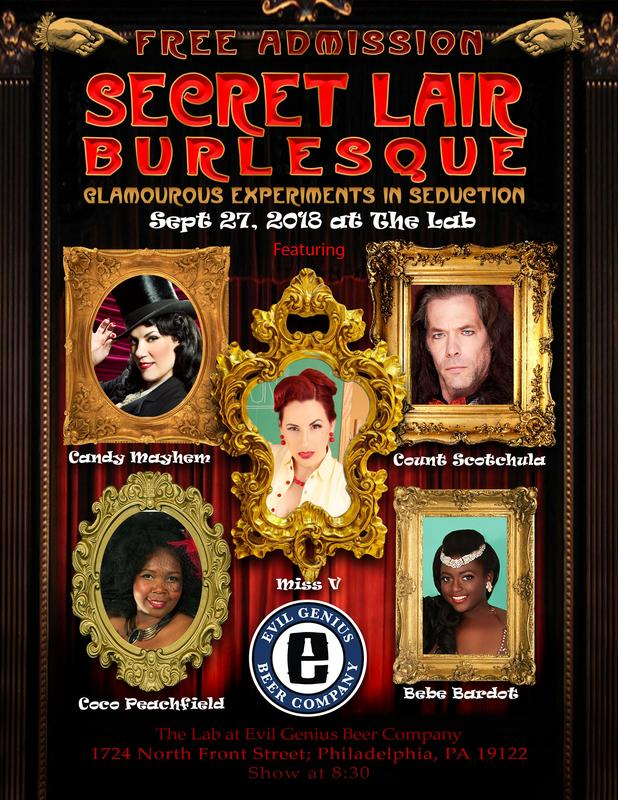 Secret Lair Burlesque VIP