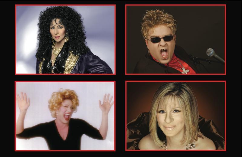 Edwards Twins...An Evening With Cher, Billy Joel, Celine Dion & Barbra Streisand!