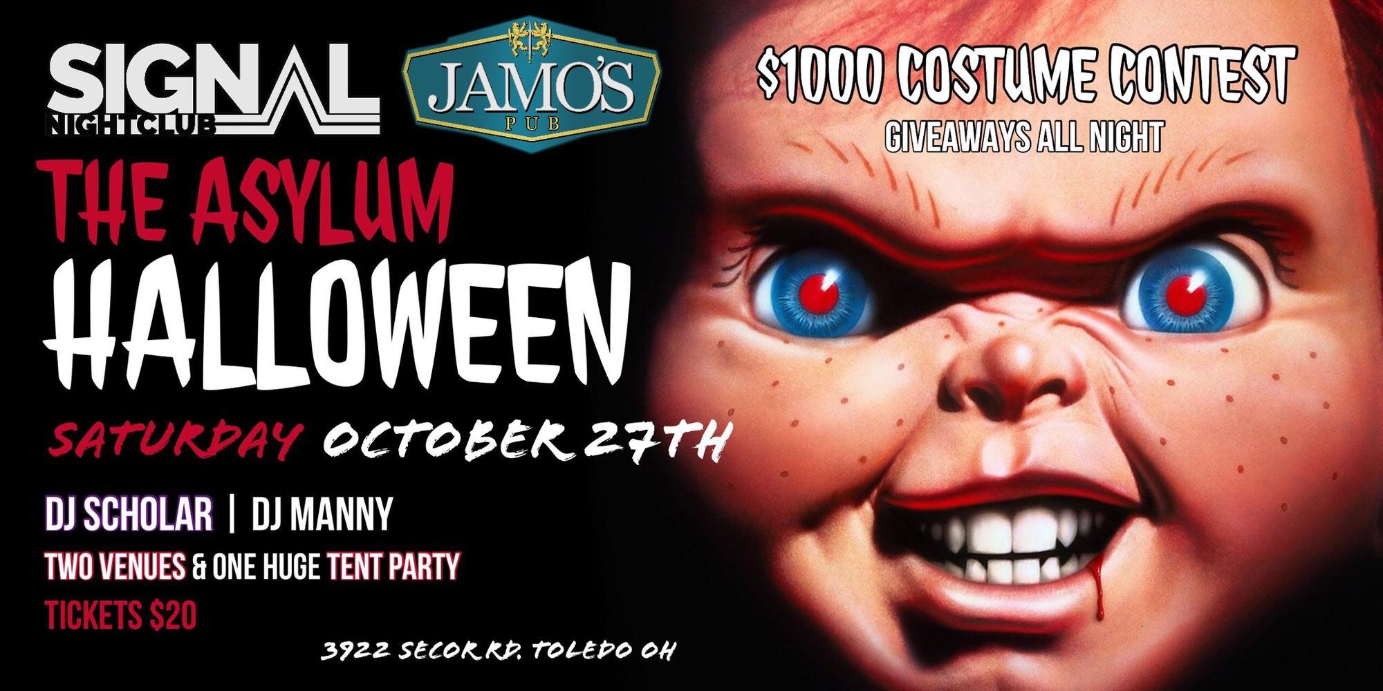 the asylum halloween bash (presentedsignal nightclub & jamo's