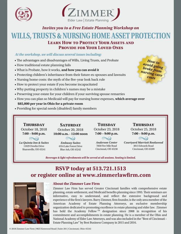 Wills, Trusts and Nursing Home Asset Protection