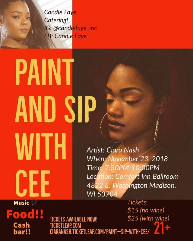 Paint & Sip With Cee