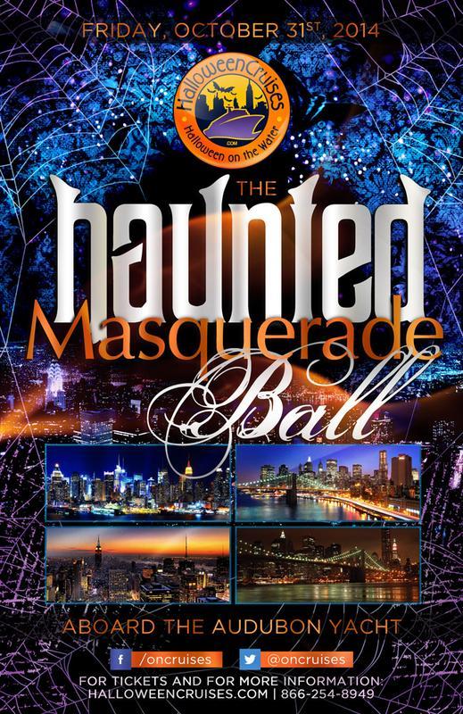 The Haunted Masquerade Ball Aboard the Audubon Yacht