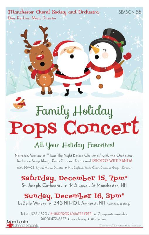MCS Holiday POPS Concert at St. Joe's