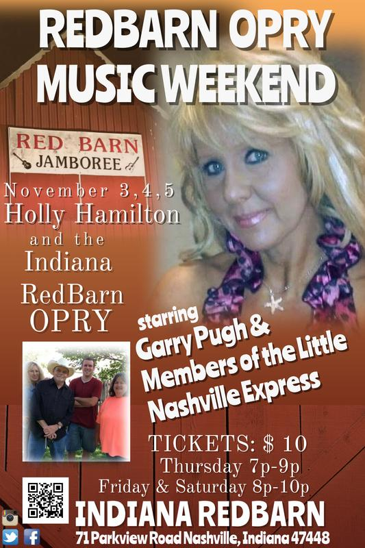 RedBarn OPRY Weekend w/ Members of The Little Nashville Express Friday 11/04