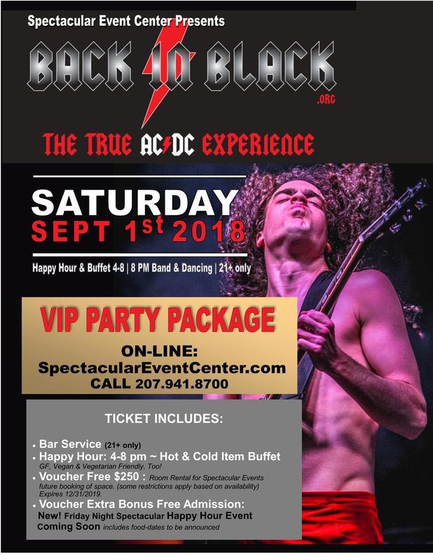 BANGOR Back in Black AC/DC Tribute Band