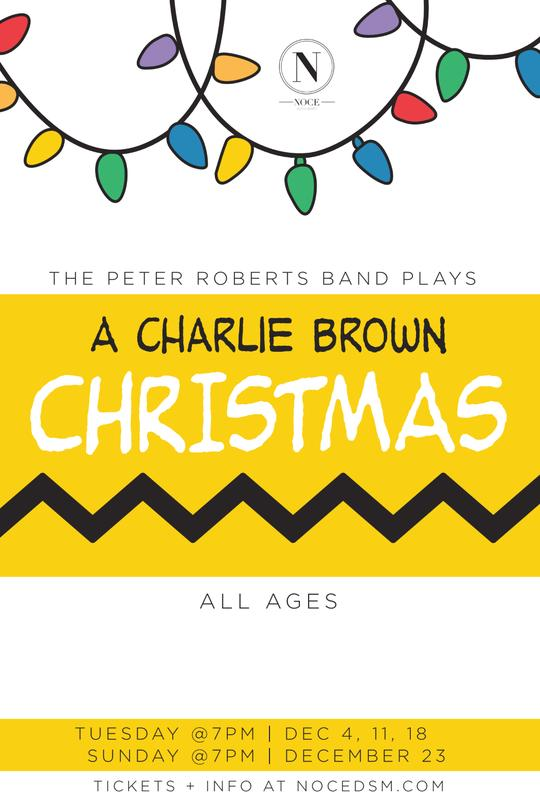 A Charlie Brown Christmas w/ The Peter Roberts Band