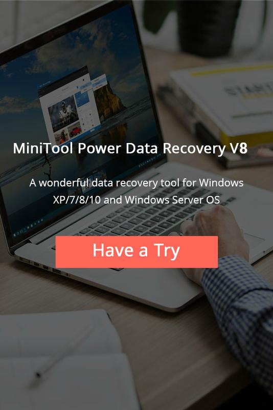 MiniTool Power Data Recovery V8 launch event