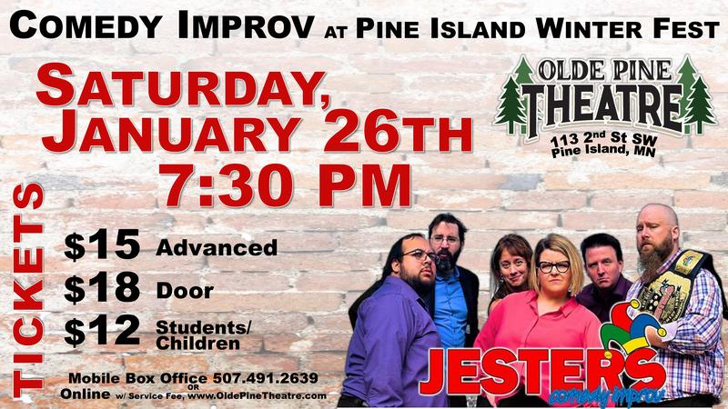 Jesters Comedy Improv (All Ages Concert)