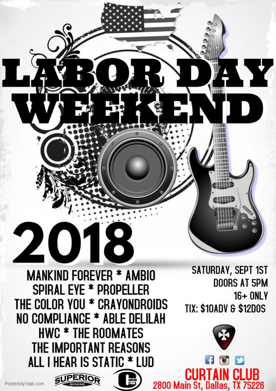 Labor Day Weekend Bash 2018