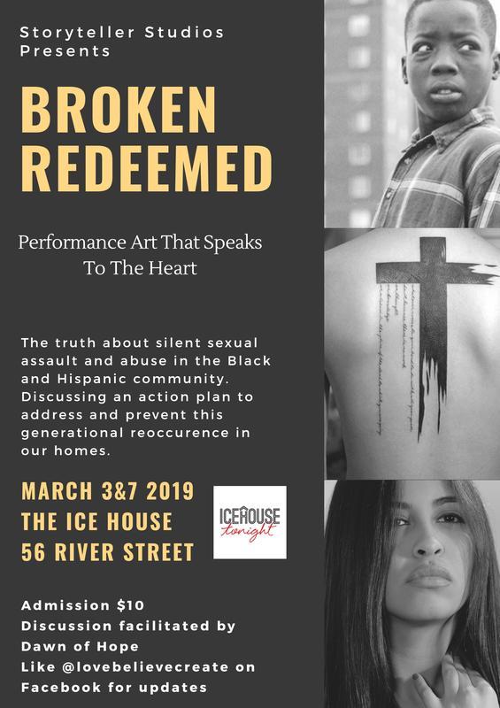 Broken Redeemed- Performance Art & Discussion