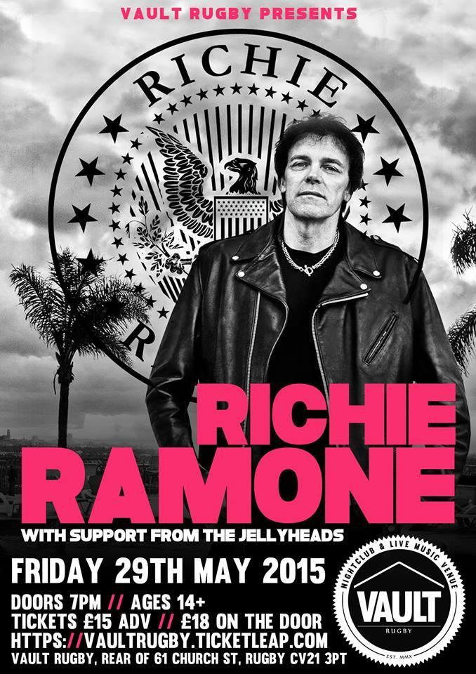 Richie Ramone Ramones Richie Ramone Support
