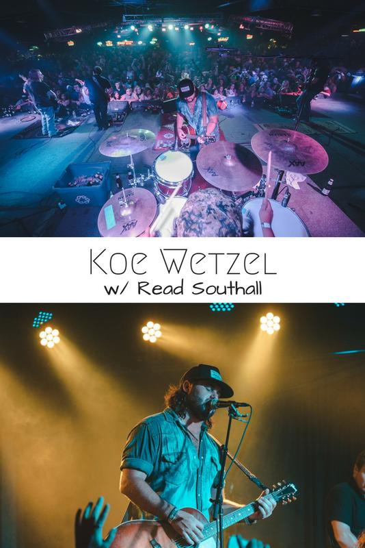 Koe Wetzel w/ Read Southall & Special Guest