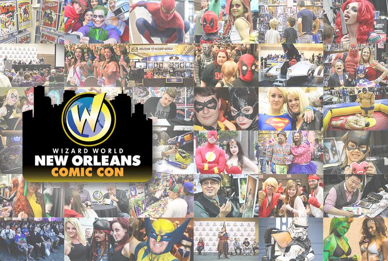 New Orleans Comic Con 2015 Wizard World VIP Package
